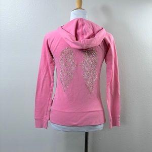 Victoria's Secret Zip Front Hoodie